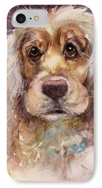 Soft Eyes IPhone Case by Judith Levins