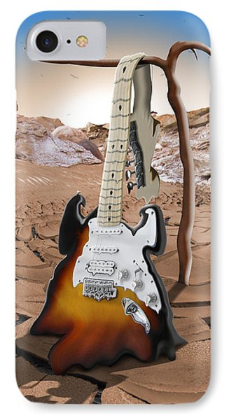 Soft Guitar 4 IPhone Case by Mike McGlothlen