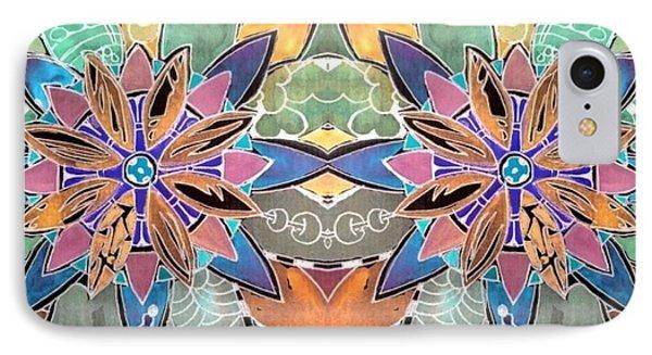 Soft Mandala IPhone Case by Sandra Lira