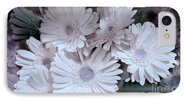 Soft Pink Daisy Bouquet IPhone Case by Jeannie Rhode