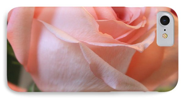 Soft Pink Rose Phone Case by Carol Groenen
