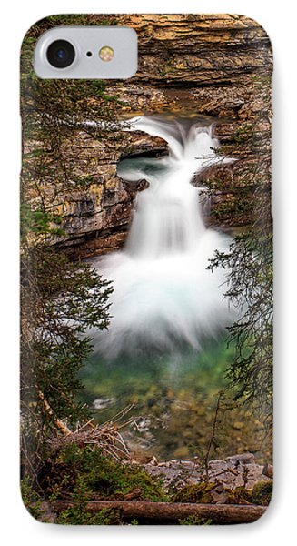IPhone Case featuring the photograph Soft Smooth Waterfall by Darcy Michaelchuk