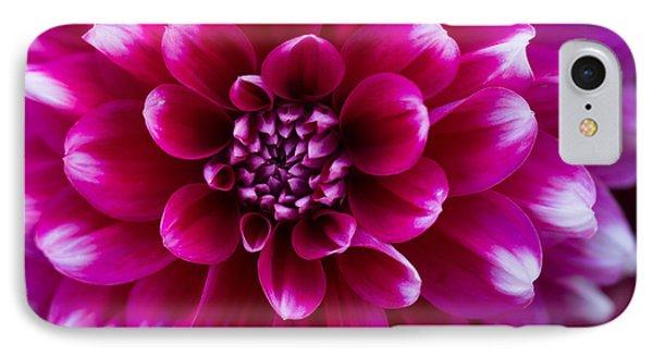 Soft Touch Dahlia IPhone Case