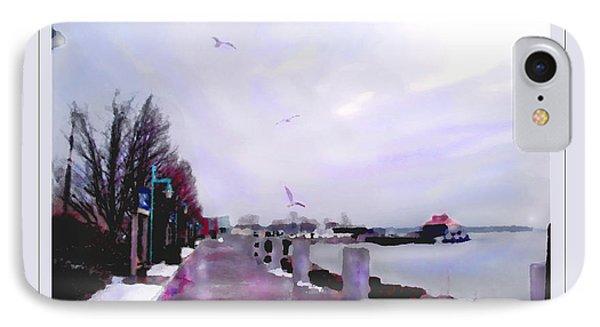 Soft Winter Day IPhone Case by Felipe Adan Lerma