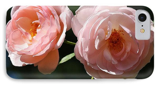 IPhone Case featuring the photograph Softly Pink by Al Fritz