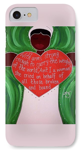 Sojourner Truth Phone Case by Angela Yarber