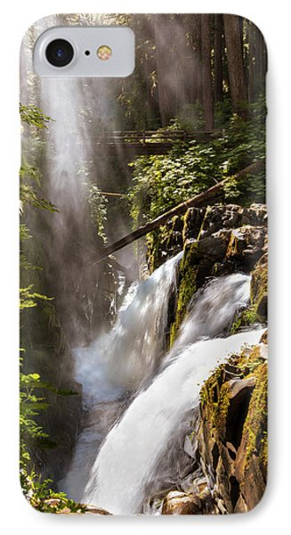 IPhone 7 Case featuring the photograph Sol Duc Falls by Adam Romanowicz
