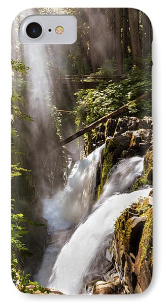 IPhone Case featuring the photograph Sol Duc Falls by Adam Romanowicz