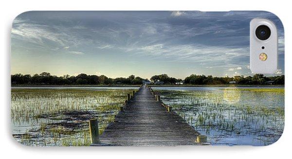 Sol Legare Dock Charleston Sc IPhone Case by Dustin K Ryan