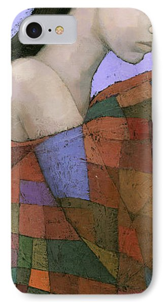 Solace Detail IPhone Case by Steve Mitchell