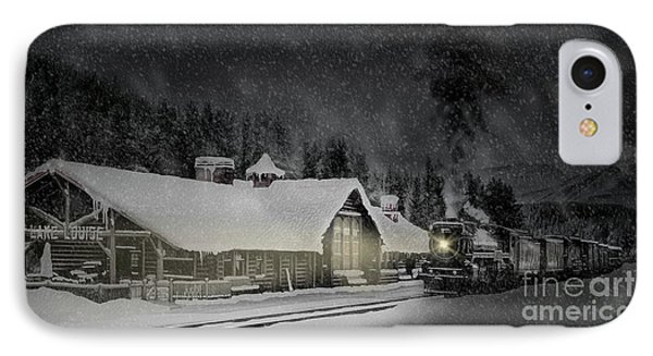 Solace From The Storm IPhone Case
