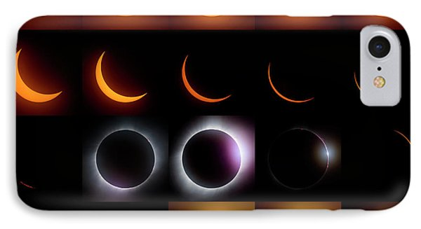 Solar Eclipse - August 21 2017 Phone Case by Art Whitton