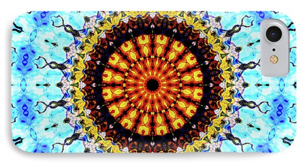 IPhone Case featuring the digital art Solar Flare 1 by Wendy J St Christopher