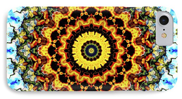 IPhone Case featuring the digital art Solar Flare 2 by Wendy J St Christopher