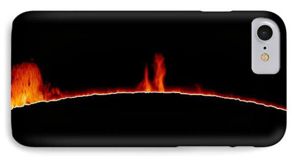 Solar Prominences Phone Case by Greg Piepol and Photo Researchers