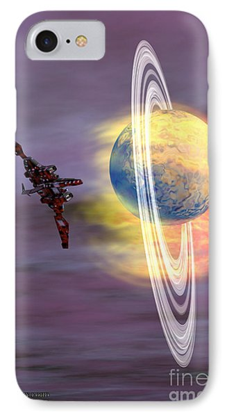 Solar Winds Phone Case by Corey Ford