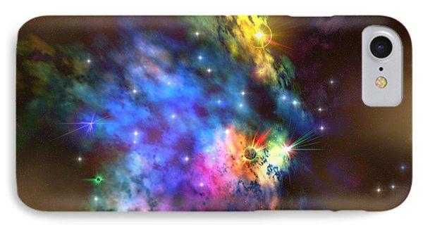 Solaris Nebula Phone Case by Corey Ford