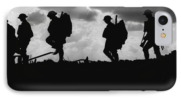 Soldier Silhouettes - Battle Of Broodseinde  IPhone Case