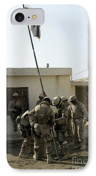 Soldiers From The Iraqi Special Forces Phone Case by Stocktrek Images