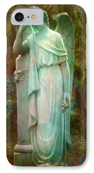 Solemn IPhone Case by Mark Andrew Thomas
