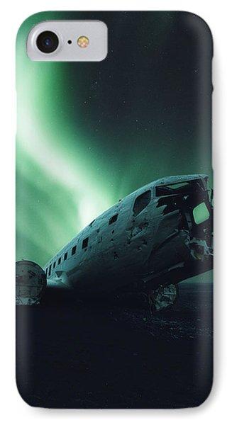Airplane iPhone 7 Case - Solheimsandur Crash Site by Tor-Ivar Naess