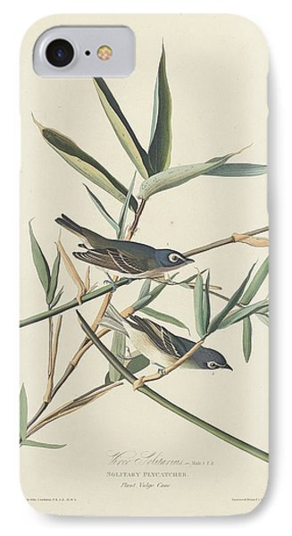 Flycatcher iPhone 7 Case - Solitary Flycatcher by Dreyer Wildlife Print Collections