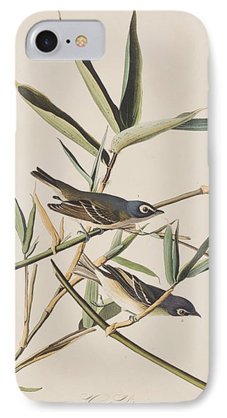 Solitary Flycatcher Or Vireo IPhone Case by John James Audubon