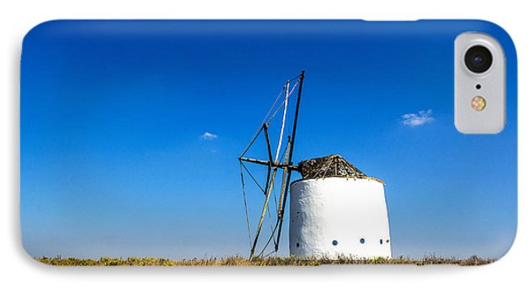 Solitary Windmill IPhone Case