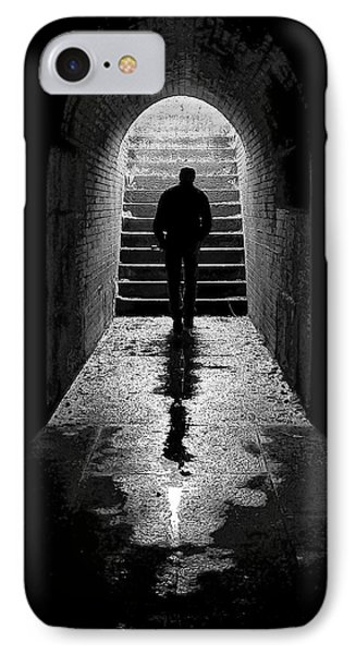 Solitude - Ascending To The Light IPhone Case by Betty Denise