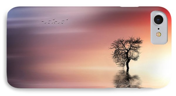 Solitude IPhone Case by Bess Hamiti