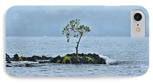 Solitude In Hilo Bay Phone Case by Christopher Holmes