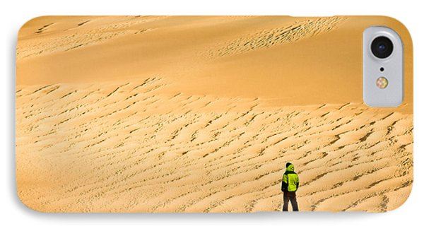 IPhone Case featuring the photograph Solitude In The Dunes by Rikk Flohr