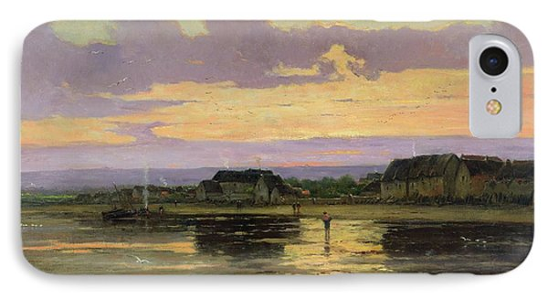 Solitude In The Evening Phone Case by Marie Joseph Leon Clavel Iwill
