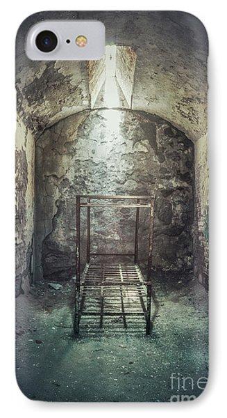 Punishment iPhone 7 Case - Solitude Of Confinement by Evelina Kremsdorf