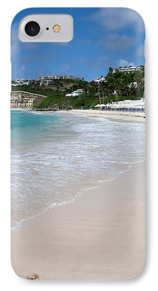 IPhone Case featuring the photograph Solitude On Dawn Beach by Margaret Bobb