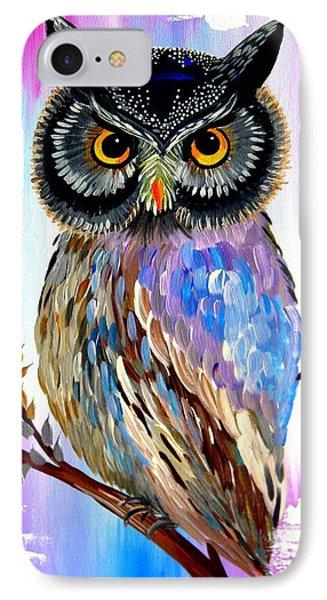 Solstice Owl IPhone Case