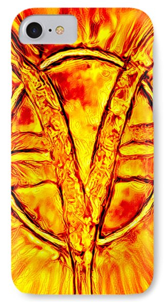 Som Symbol - Fire IPhone Case