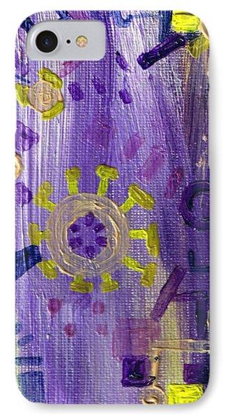 Some Small Hazy Notion Phone Case by Regina Valluzzi
