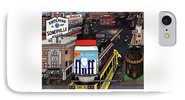 A Strange Day In Somerville  IPhone Case