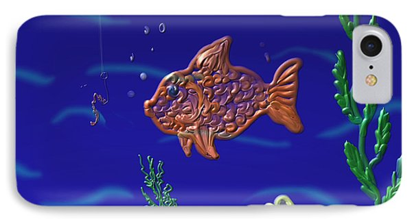 Something Fishy IPhone Case