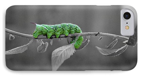 Something Green IPhone Case by Teresa Blanton