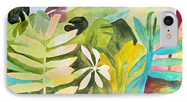 IPhone Case featuring the painting Sometimes I Miss The Tropics by Sandy McIntire