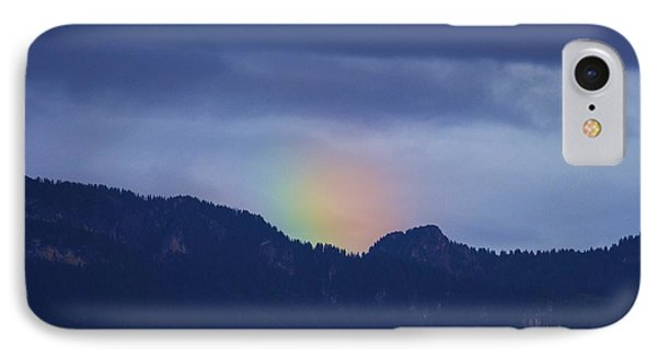 Sometimes The Rainbow Is On The Other Side Of The Mountain IPhone Case by Colleen Williams
