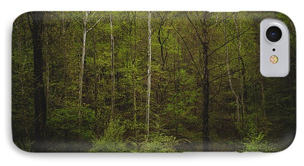 IPhone Case featuring the photograph Somewhere In The Woods by Shane Holsclaw
