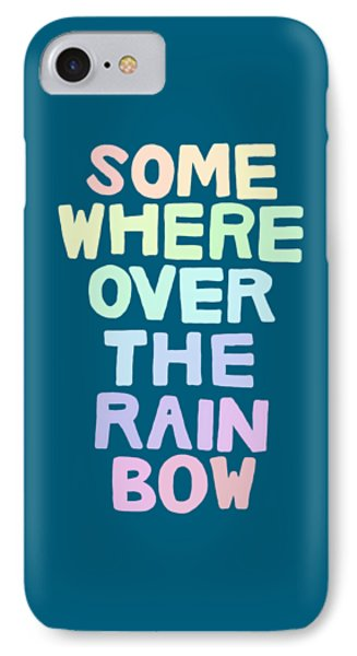 Somewhere Over The Rainbow IPhone Case by Priscilla Wolfe