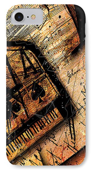 Sonata In Ace Minor Panel I IPhone Case by Gary Bodnar