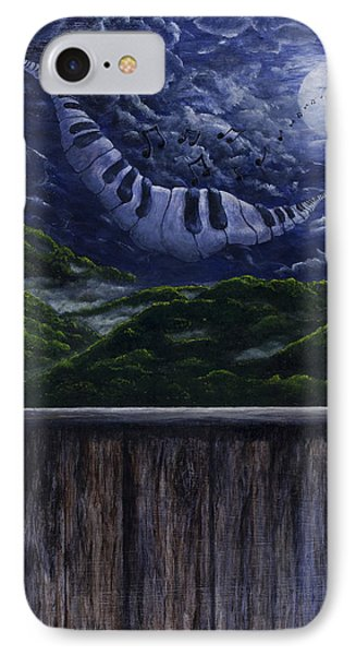 Song In The Night IPhone Case by Jyvonne Inman