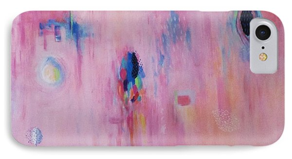 Working Through The Layers Pink IPhone Case by Suzzanna Frank