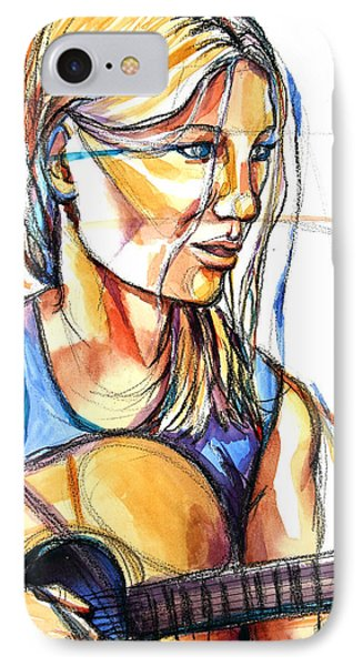 Song IPhone Case by Patricia Allingham Carlson