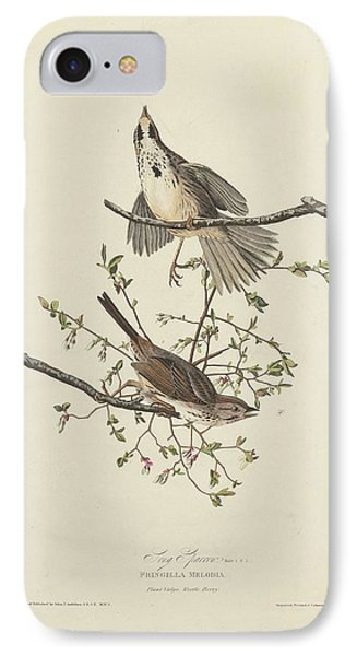 Song Sparrow IPhone 7 Case by Rob Dreyer